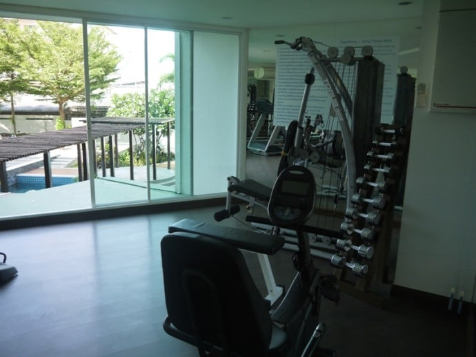 Fitness Center At Tira Tirra Condo, Hua Hin