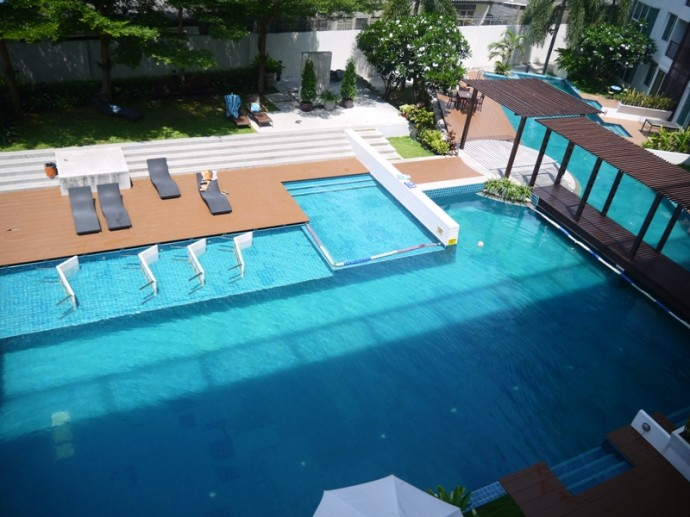 View From The Balcony Of Our Hua Hin Condo