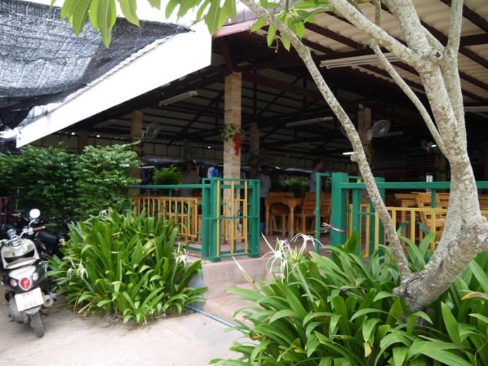 Restaurant At Chong Chom Border Market, Surin Province, Thailand