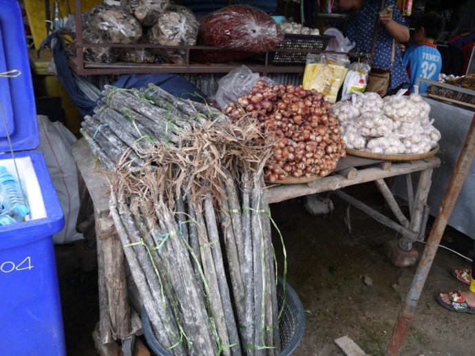 Natural Candles At Chong Chom Market, Surin