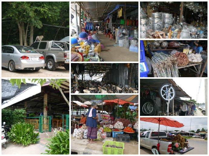 Chong Chom Border Market, Surin Province, Thailand