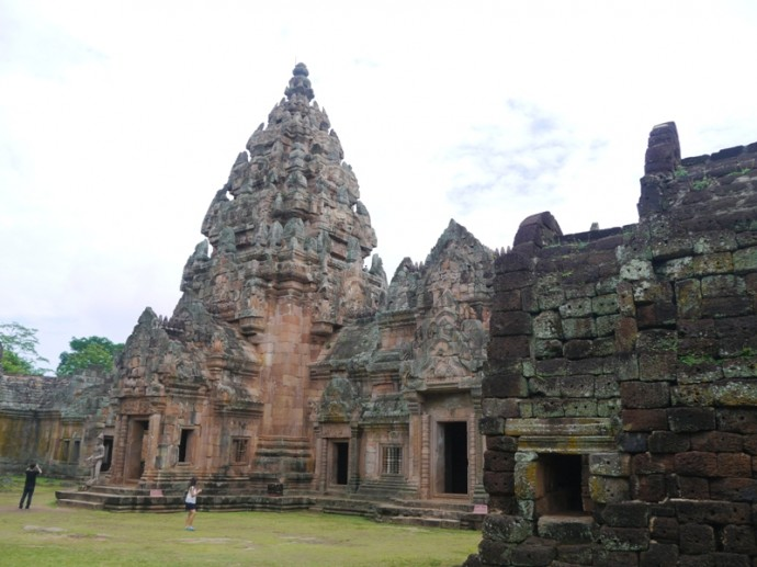 Khmer Architecture At Phanom Rung Historical Park