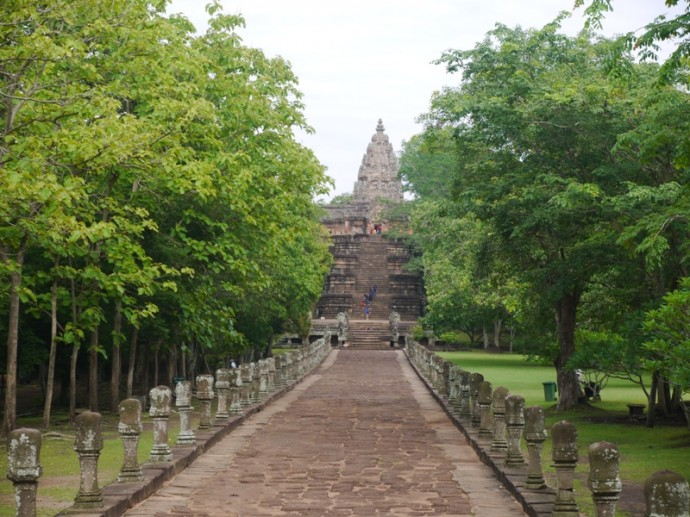 Walkway & Steps Leading To Phanom Rung