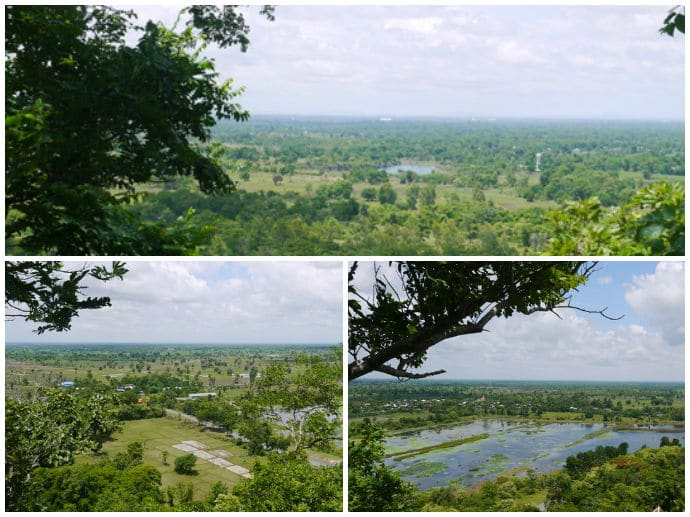View From Phanom Srei At Phanom Sawai Forest Park, Surin