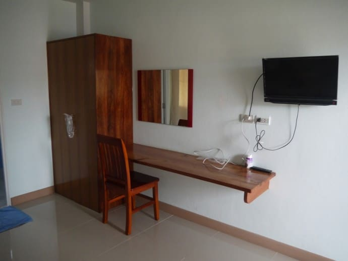 Wardrobe, Desk, TV At TK Mansion, Surin