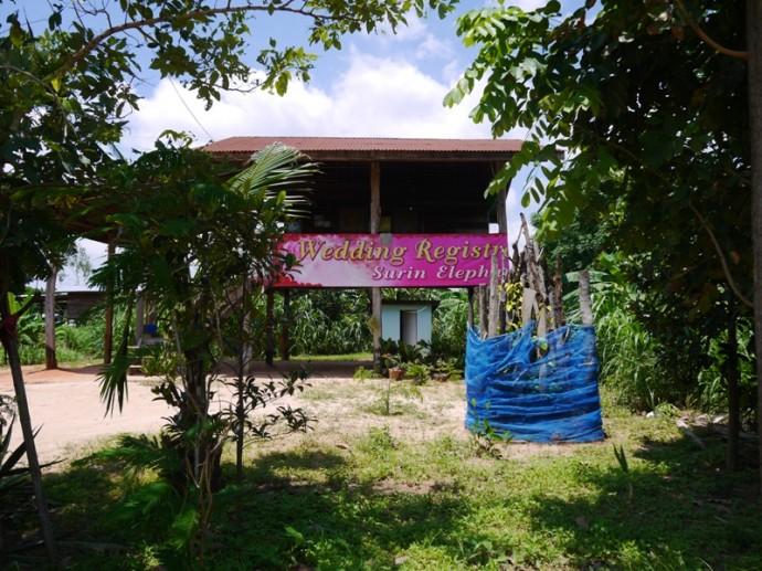 Registry Office At Ban Ta Klang Elephant Village