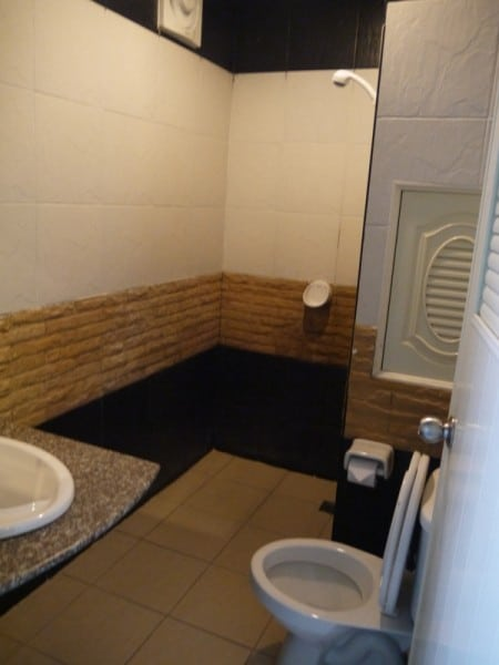 Bathroom At Better Place Hotel, Ubon Ratchathani