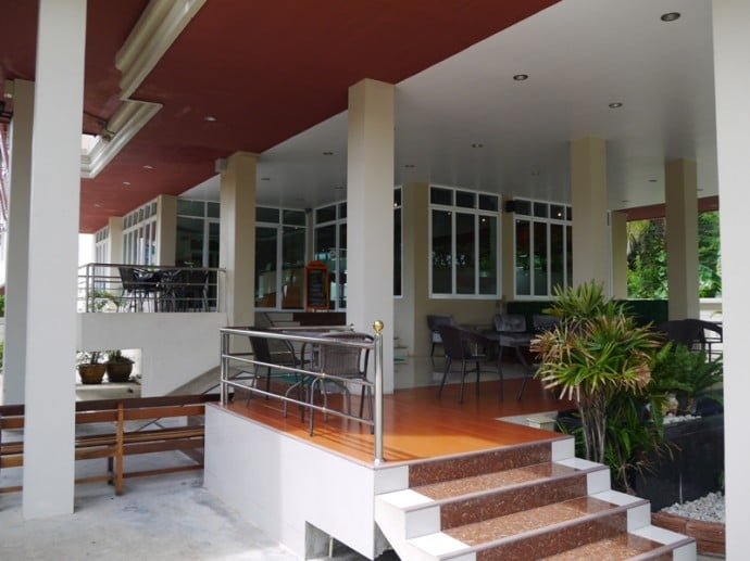 Cafe & Outdoor Seating At Better Place Hotel, Ubon Ratchathani, Thailand