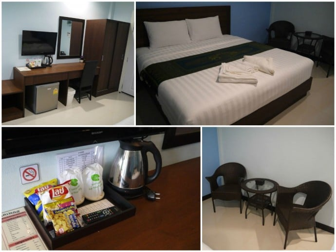 Deluxe Room At BK Place Hotel, Bueng Kan, Thailand