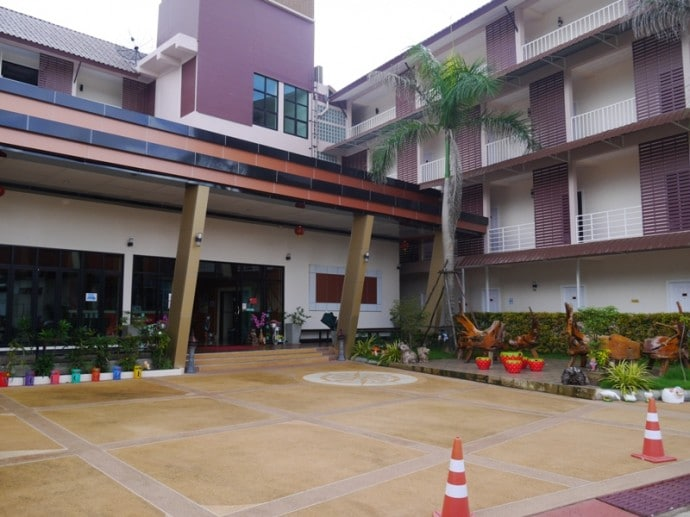 Hotel Entrance At BK Place Hotel, Bueng Kan