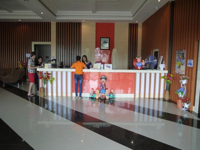 Reception At BK Place Hotel, Bueng Kan