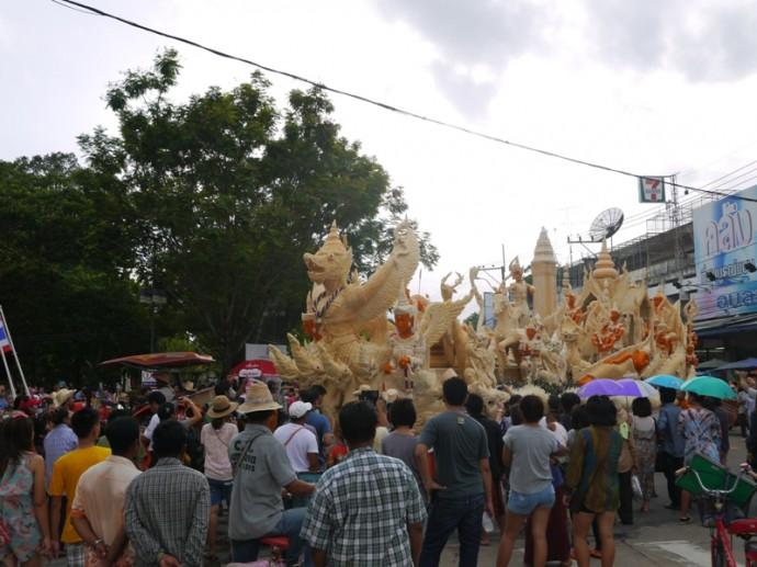 Ubon Ratchathani Candle Festival 2014