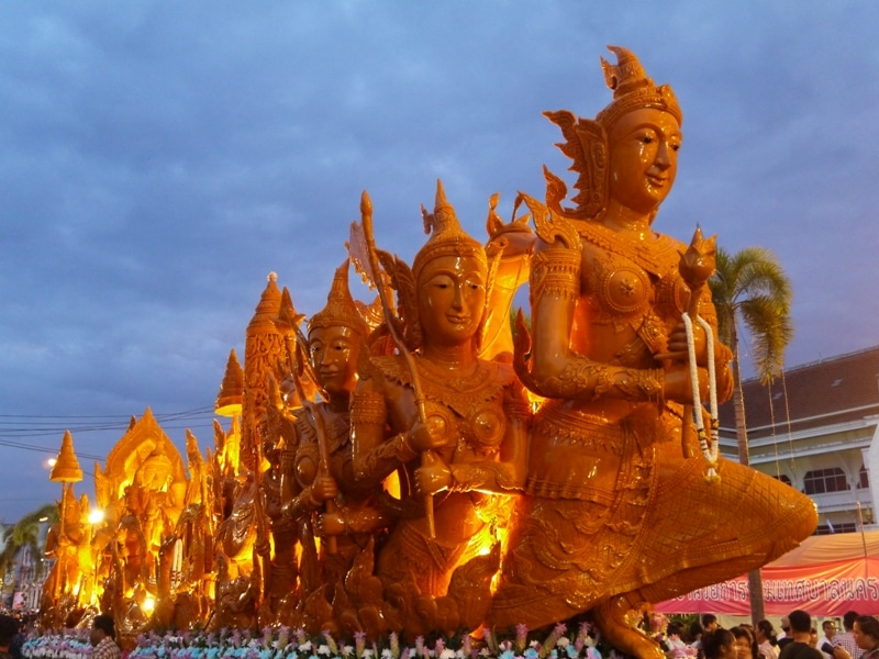 Ubon Ratchathani Thailand  city pictures gallery : Ubon Ratchathani Candle Festival 2014, Thailand Renegade Travels