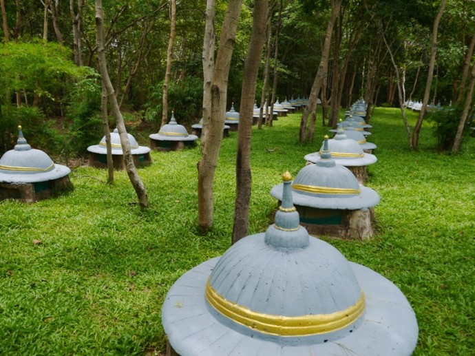 Ban Ta Klang Elephant Graveyard In A Peaceful Forest Setting