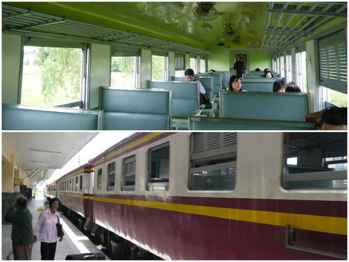 3rd Class Khon Kaen To Udon Thani Train