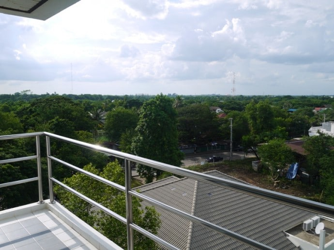 View From 6th Floor VIP Room At Maneerote Hotel, Surin