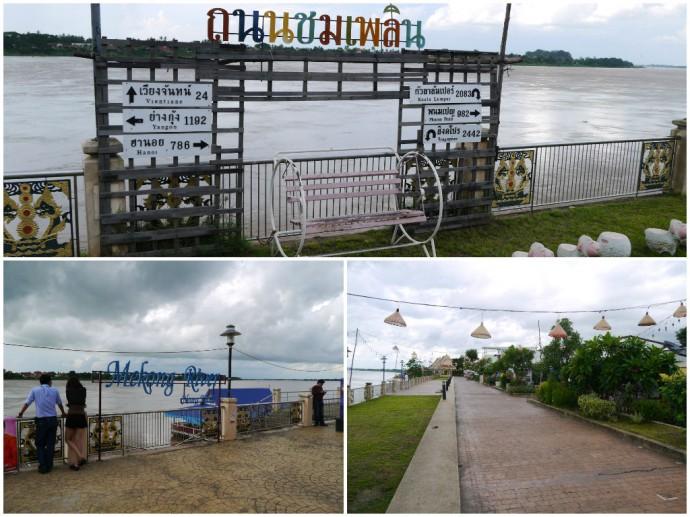 Nong Khai Waterfront Promenade