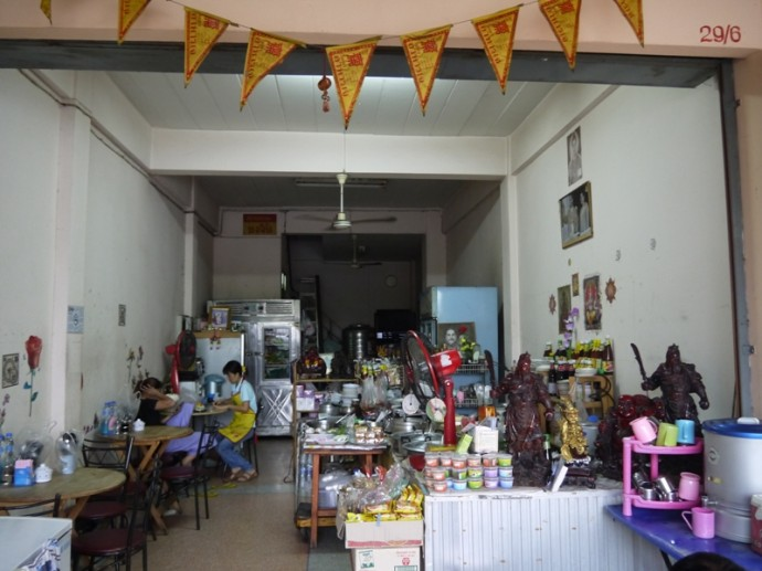 Jay Pa Lek Vegetarian On Chi Tha Khon Road, Khon Kaen