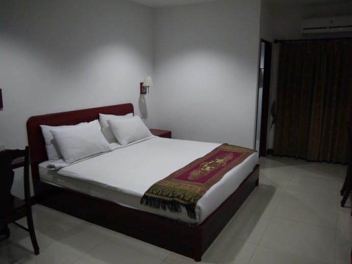 Very Large Double Bed At Phanthipha Residence, Khon Kaen, Thailand