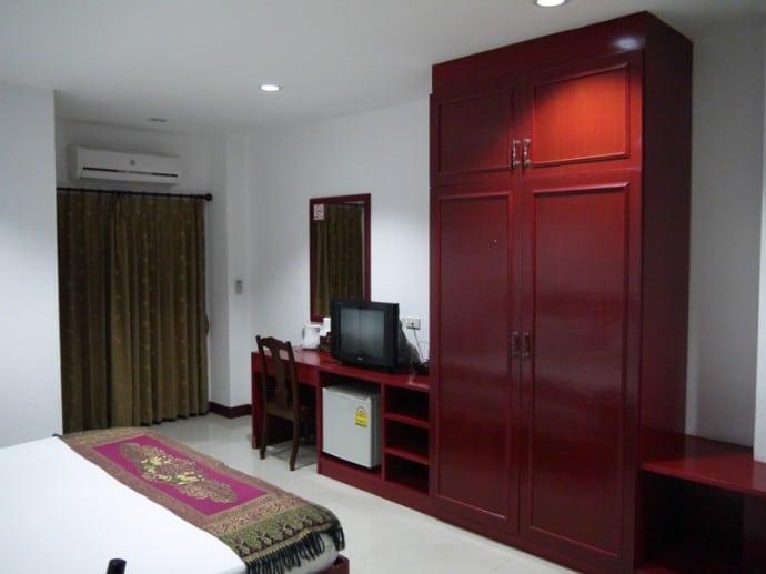 Deluxe Room At Phanthipha Residence, Khon Kaen, Thailand