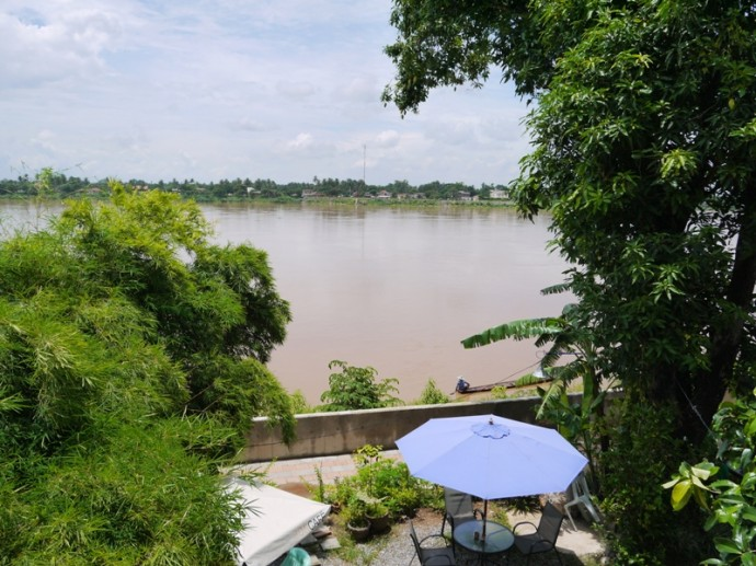 Our Room At The Rim Riverside Overlooked The Mekong River