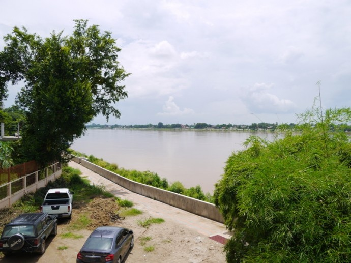 View From Our Room At The Rim Riverside Hotel, Nong Khai