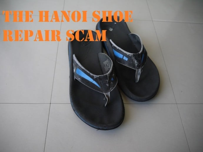 The Hanoi Shoe Repair Scam