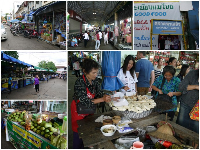 Tha Sadej Market (Indo-China Market)