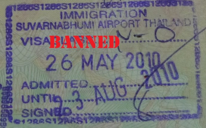 Thailand Immigration Entry Stamp