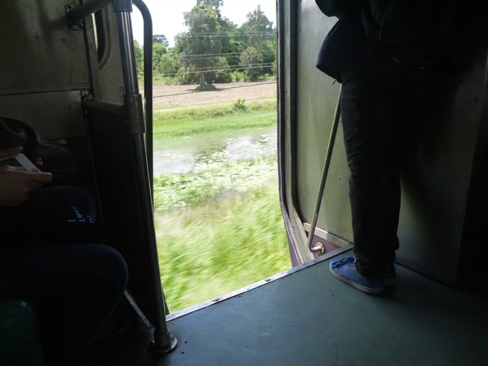 An Open Door On Our Train