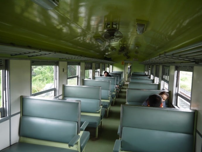3rd Class Udon Thani To Khon Kaen Train