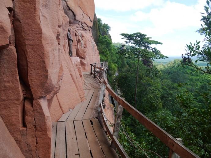 Level 5 Walkway, Including Statue Of Ajahn Juan