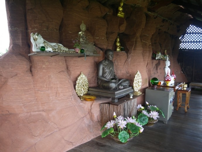 Inside The Small Temple Area At Level 5