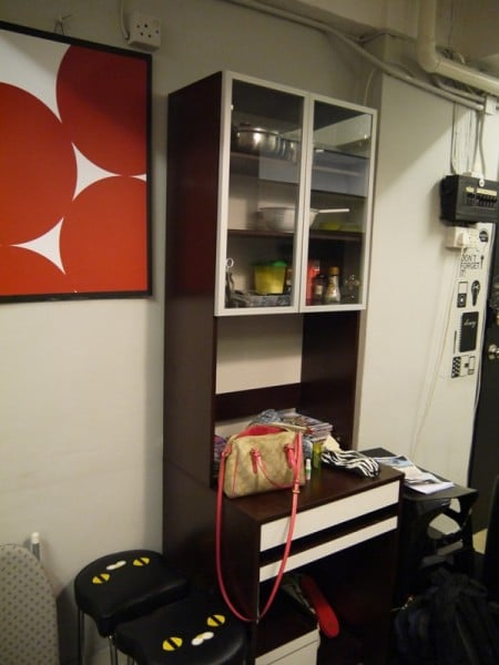Cabinet In Living Area