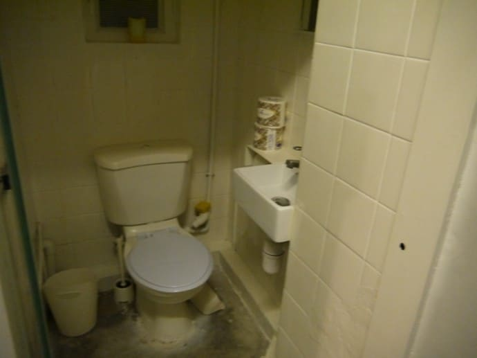 Toilet At Our Hong Kong Airbnb Apartment
