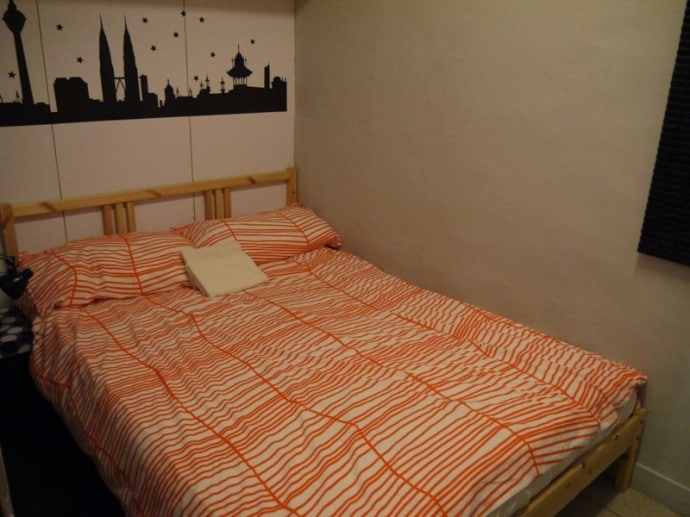 Bedroom At Our Hong Kong Airbnb Apartment