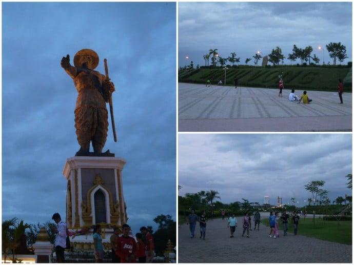 Anouvong Park & Statue, Vientiane, Laos