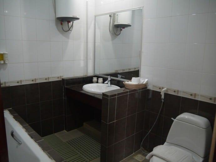 Bathroom At AV Hotel, Vientiane
