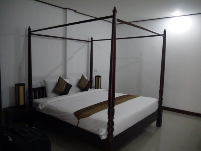 Four-Poster Bed At AV Hotel, Vientiane