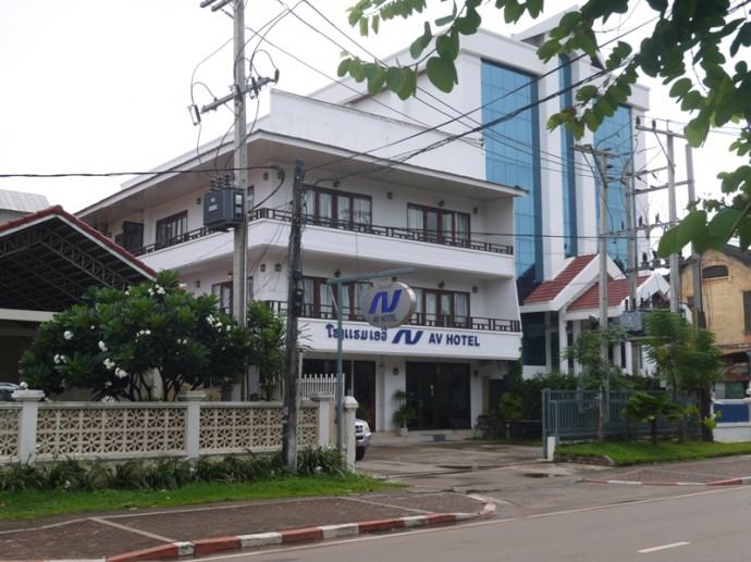 AV Hotel, Vientiane, Laos
