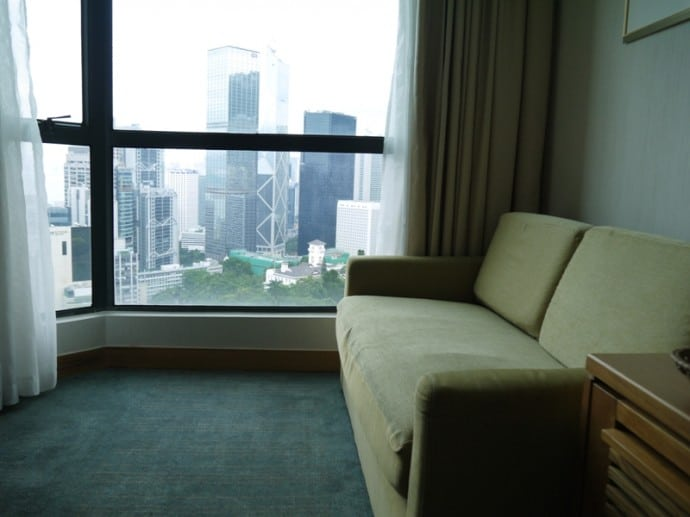 Our Harbour View Suite Room At Bishop Lei International Hotel