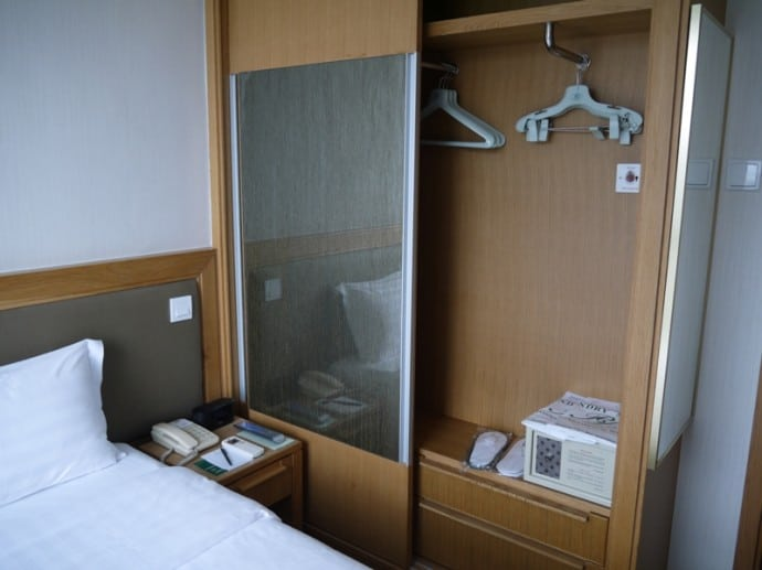 Wardrobe & Safe At Bishop Lei International Hotel, Hong Kong