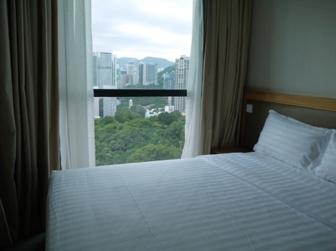 Bedroom At Bishop Lei International Hotel, Hong Kong