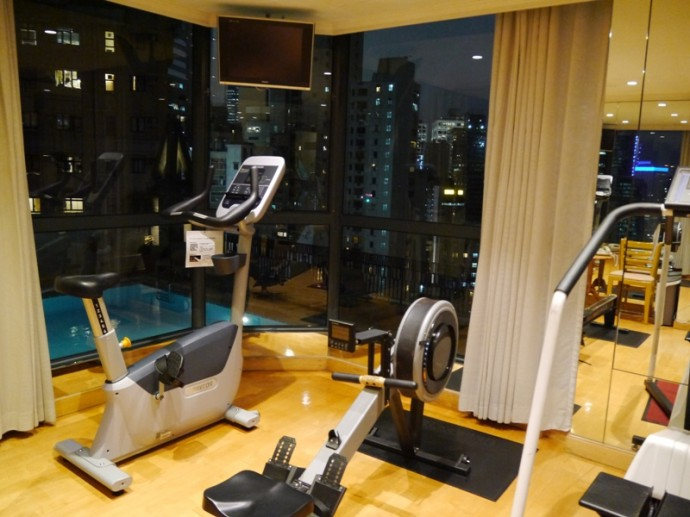 Exercise Room At Bishop Lei International Hotel, Hong Kong