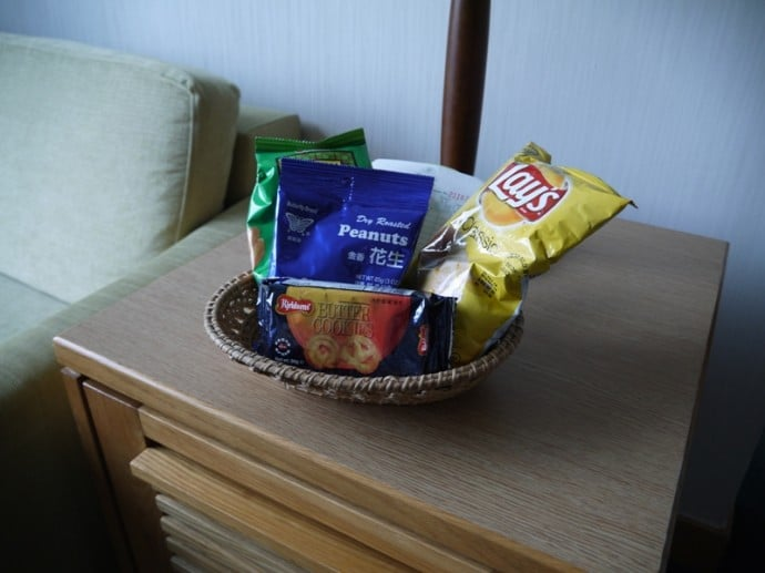 Snacks & Minibar At Bishop Lei International Hotel