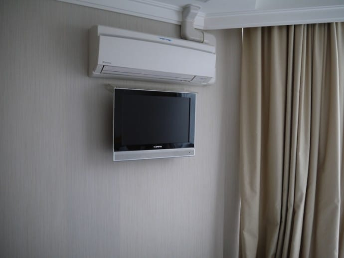 TV & Aircon At Bishop Lei International Hotel