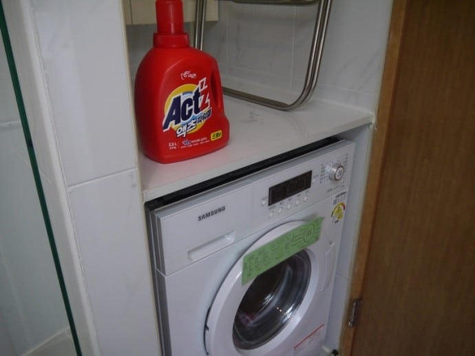 Washer Dryer At Charm #3 Apartment, SK Hub, Seoul
