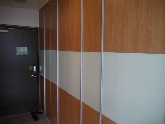 Large Wardrobe At Charm #3 Apartment, SK Hub, Seoul