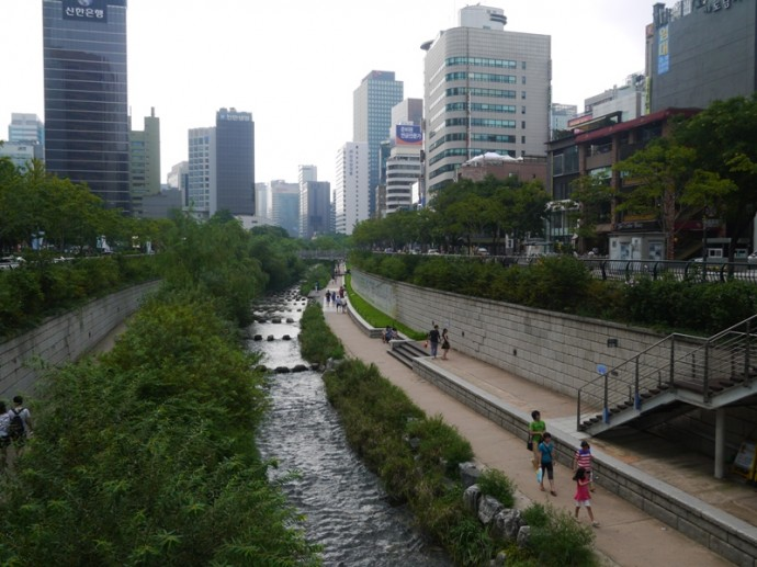 Cheonggyecheon Stream, Seoul