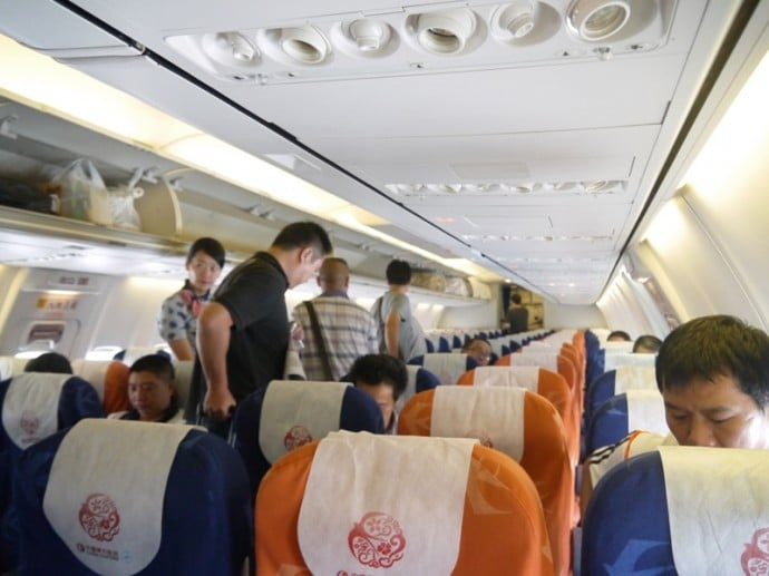 China Eastern Airlines Flight To Kunming